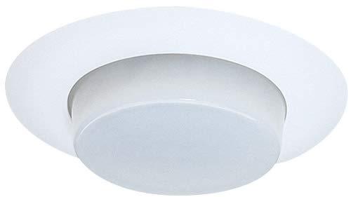 Elco Lighting EL16W S 6 Shower Trim with Drop Opal Lens EL16
