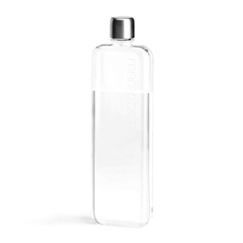 decc69b6a48e memobottle - Reusable Slim Water Bottle - Made from Recycled BPA ...