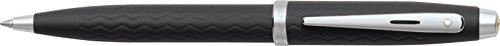 Sheaffer Ferrari 100 Series, Tire Tread Engraved, Nickel Plate Trim, Ballpoint (Engraved Nickel Plate)