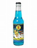 Mighty Mouse Blue Cream Soda 1-12oz bottle (Retro Mighty Mouse)