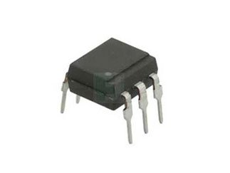 Fairchild (ON Semiconductor) FOD4208 Dip-6 Through Hole Single Channel 300 mA 5000 Vrms Triac Driver - 5 Item(s)