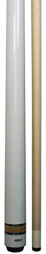 Aska L3 2pc No Wrap Pool Cue Stick, 58