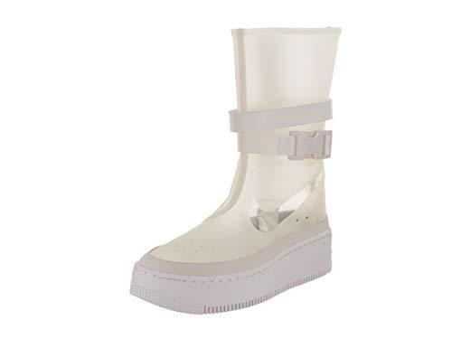 Nike Women's AF1 Sage Hi LX Phantom/White Boot 8.5 Women US (Nike Boots Womens Top Hi)