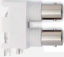 RF Connectors / Coaxial Connectors BNC CIR BRD MNT 50 O