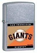 New York Giants Zippo Lighter - Zippo Giants- Street Chrome