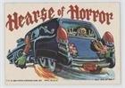 Hearse of Horror (Trading Card) 1980 Topps Weird Wheels - [Base] #23 (Card Weird Wheels)
