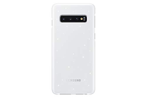 Samsung Galaxy S10 LED Back Case, White