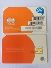 At T Sim Card  Compatible With Prepaid  Gophone  And Postpaid At T Cellular Service  Micro