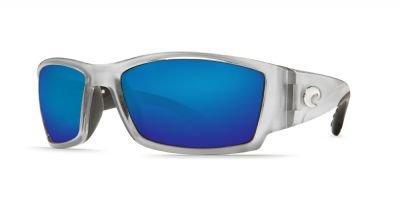 Costa Del Mar Corbina Sunglasses Silver / Blue Mirror - Costa Del Florida Mar