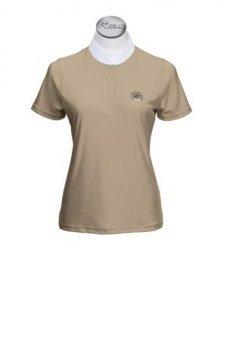 PIKEUR Damen-Turniershirt mit 1/2 Arm, savanne, 46