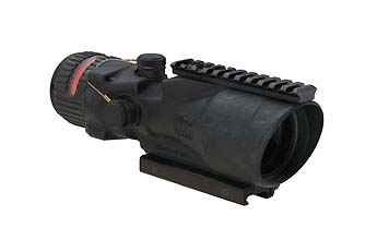 ACOG 6X48 Scope Dual Illuminated Red 500 Ballistic Reticle with TA75 Mount and M1913 Rail