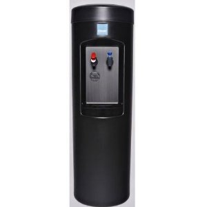 Clover D7A Hot and Cold Bottleless Water Dispenser with install kit, Black
