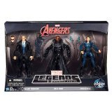 Marvel Avengers Marvel Legends Infinite Series Agent Coulson, Nick Fury & Maria Hill 6