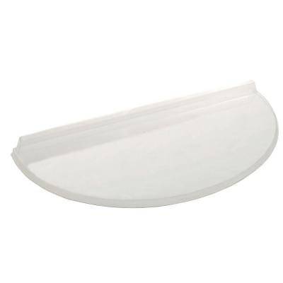 40 in. x 17 in. Circular Polycarbonate Window Well Cover
