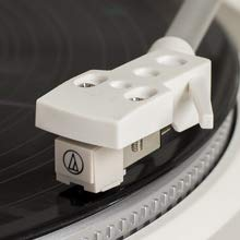 Crosley T400 Fully Automatic 2-Speed Component Turntable with Built-in Preamp, White