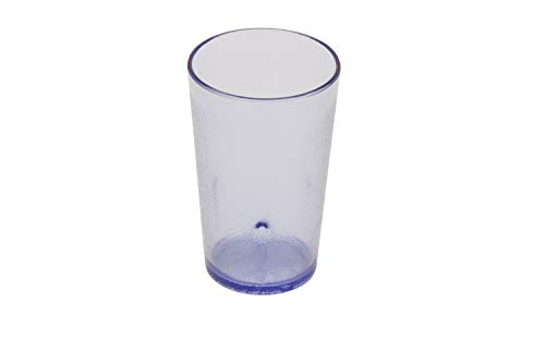 GET 6605-1-BL-EC BPA-Free Stackable Restaurant-Style Plastic Tumblers, 5 Ounce, Blue (Set of 4)
