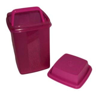 (Tupperware 5 Cup Pick A Deli Pickle Keeper Container, Fuchsia Pink, 7.5-Inch (Original Version))