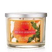 - Avon Island Hibiscus 3 Wick Candle