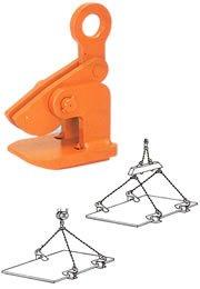 イーグルクランプ HOW型 鋼板水平つり用クランプ HOW-2 (11020600) B01KIZK6YG