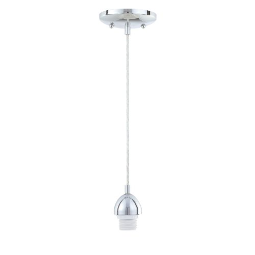 1 Fixture Pendant - Westinghouse 8571800 One Light Adjustable Mini Pendant Chrome Finish
