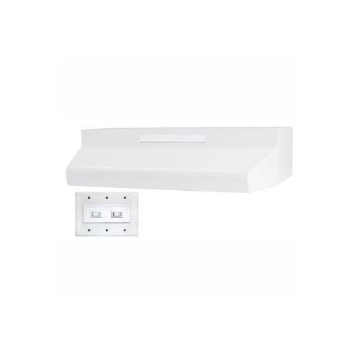 Air King ES363ADA ADA-Compliant Energy Star Qualified 36-Inch Wide Under Cabinet Range Hood with 2-Speed Blower and 270 CFM, White Finish by Air King