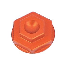 7602 Racing Front Axle Nut Orange for KTM 350 EXC-F 2016-2018 by 7602 Racing