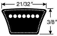 V-Belts 8400-3570 (8400 Belt)