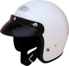 GMax GM2 Youth White Open Face Helmet - Youth Small/Medium (Face Youth Helmet Open)