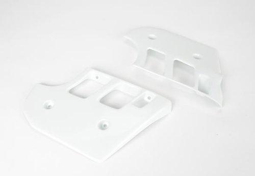 (UFO Plastics Radiator Cover White KTM 125 250 500 90-92)