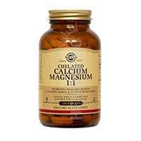Tabs Calcium Chelated (Chelated Calcium Magnesium 1:1 240 Tabs 3-Pack)