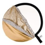 Lastolite LL LR3096  30-Inch 5-In-1 Reflector Diffuser with Gold/White and Sunfire/Silver Bottletop