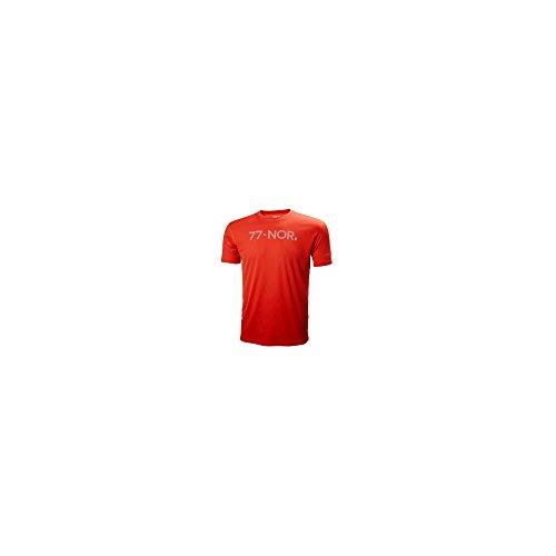 T-shirt traspirante uomo HP QD X-COOL - ROSSO ROSSO XXL - HELLY HANSEN