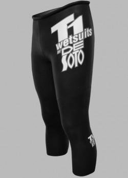Desoto Wetsuit - De Soto T1 Speedtube - ST2-2017 (Black, 6)