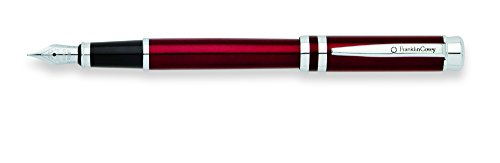 Cross Franklin Covey Freemont, Vineyard Red Lacquer/Chrome, Medium Fountain Pen (FC0036IM-3MS)