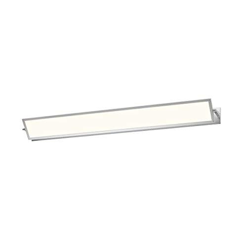 Sonneman 2704.16, Aileron Wall Vanity Lighting, 1 Light LED, Aluminum ()