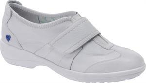 Nurse Mates Nursing Uniform - Nurse Mates Women's Maddy Slip-On Shoes White