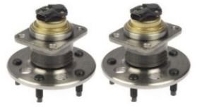 Cadillac Deville Rear Hub - Rear Wheel Hub & Bearing Assembly Pair Set for Buick Cadillac Olds Pontiac