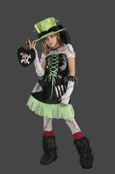 Monster Bride Size 14 To 16 (Kids Zombie Bride Costume)