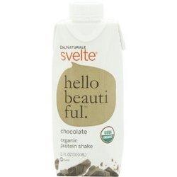 Cal Natural Choc Svelt 4p Size 4/11o Calnaturale Chocolate Svelte Organic Protein Shake 4 Pack Four 11 Fl.Oz