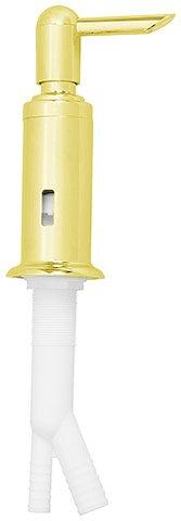polished brass kitchen sink soap dispenser air gap set - Kitchen Sink Air Gap