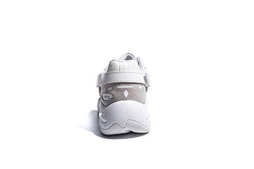 Zapatillas de Chunky Zapatos Malla Life Licy para Atletismo 35EU Calzado Running Sneakers 40EU Mujers Cordones Fitness UK Deportivo Talón Blanco Invierno Alta Correr Otoño Plataforma Casual vtwItXq