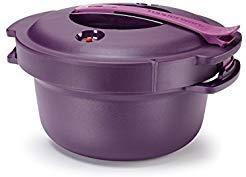 Tupperware Microwave Pressure Cooker 2 Qt. Purple ()