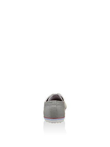FRED PERRY hombre zapatillas bajo B6259 119 KINGSTON TWILL Gris