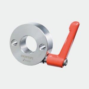 岩田製作所 セットカラー 2穴付 クサビカラー クランプレバー付 SCK1515SP2S