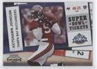 (Keyshawn Johnson #42/50 (Football Card) 2010 Playoff Contenders - Super Bowl Tickets - Black #74 )