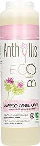 ANTHYLLIS - Shampoo for Oily Hair - Mild cleansing with Burdock and Rosemary - Balancing, Soft and Natural - Suitable for Allergy Sufferers - 250 ml
