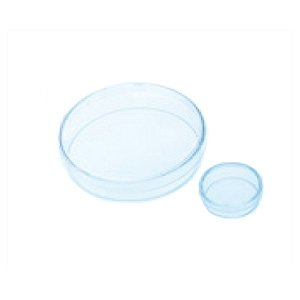 Greiner Bio-One 628979 CELLSTAR Cell-Repellent Surface Dish with Lid, Sterile, 60 mm Diameter x 15 mm Height (Pack of 20)