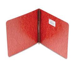 ** Pressboard Report Cover, Prong Clip, 8-1/2 x 8-1/2, 2'' Capacity, Red