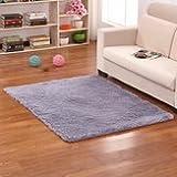Board Squishy Carpet - 50x80cm Bedroom Living Soft Rug Shaggy Anti Slip Carpet Absorbent Mat - Sibilant Subdued Effeminate Coddled Velvet Velvety Downy Brushed Softened - 1PCs