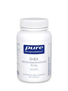Чисто инкапсуляции - DHEA микронизированный 10 мг 180 капсул-2 пакеты